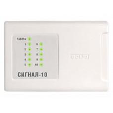 Прибор приемно-контрольный охранно-пожарный: Сигнал-10