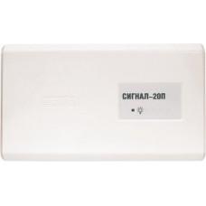 Прибор приемно-контрольный охранно-пожарный: Сигнал-20П