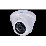 Купольная TVI камера видеонаблюдения RVi-HDC311B-AT