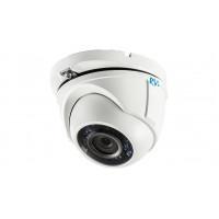 Купольная TVI камера видеонаблюдения TVI RVi-HDC321VB-T (2.8)
