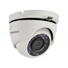 Купольная TVI-камера видеонаблюдения HiWatch-DS-T203