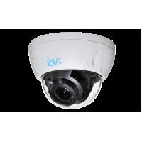 Купольная HD камера RVI-1ACD102 (2.7-13.5) WHITE