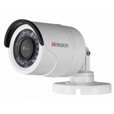 Цилиндрическая HD-TVI видеокамера с ИК-подсветкой до 20 м с PoC - DS-T200P