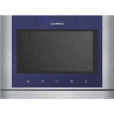 Цветной видеодомофон COMMAX CDV-70M синий