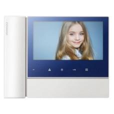 Цветной видеодомофон COMMAX CDV-70N2 синий